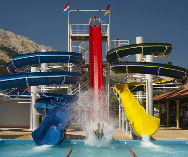recreational waterslide illness filtration